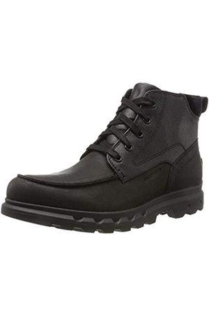 sorel Portzman Moc Toe, Botas de Nieve Hombre, (Black/Quarry)