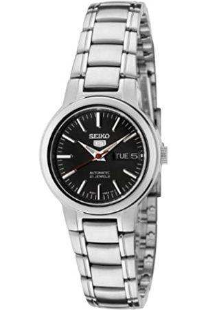 Seiko SYME43 5 Reloj automático de Acero Inoxidable con Esfera Negra para Mujer