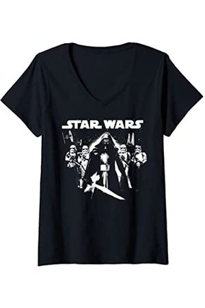 STAR WARS Mujer Kylo Ren Ready To Fight Camiseta Cuello V