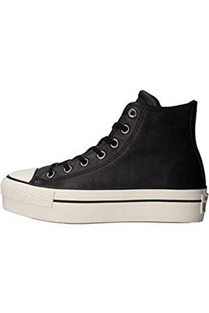 Converse CTAS Hi Platform Leather, Zapatillas Altas Mujer