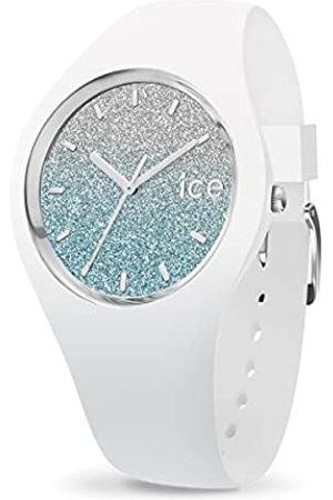 Ice-Watch ICE Lo White Blue - Reloj para Mujer con Correa de Silicona