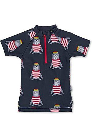 Sterntaler Shorts de baño - Kurzarm-Schwimmshirt Robbe Camisa de protección de Sarpullido