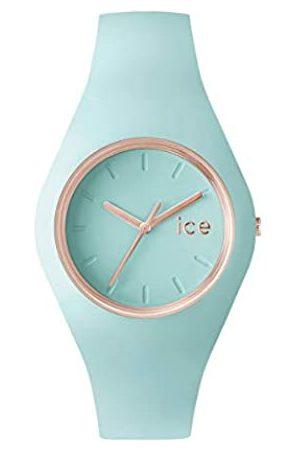 Ice-Watch Mujer Relojes - Ice Glam Pastel Aqua - Reloj Verde para Mujer con Correa de Silicona