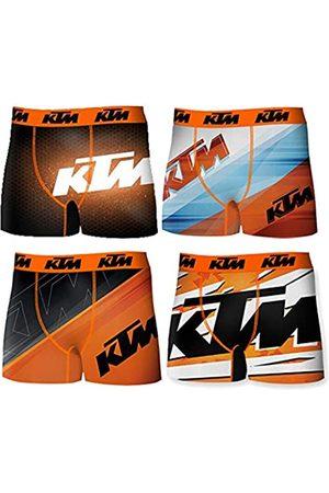 KTM T376-1-X Set 4pcs Boxers -92% poliéster 8% Elastano
