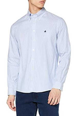 Brooks Brothers SPT Ml Ni Stretch Pinpoint Solid Milano Camisa Casual