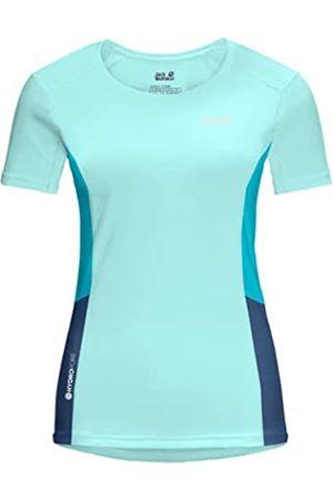 Jack Wolfskin Camiseta para Mujer Narrows Dark Indigo/Powder Blue XXL