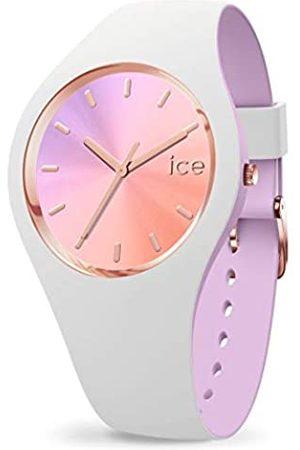 Ice-Watch ICE Duo Chic White Orchid - Reloj para Mujer con Correa de Silicona
