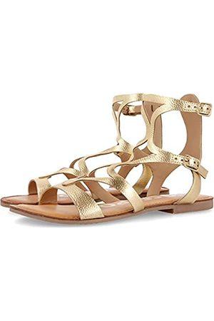 Gioseppo Mujer Sandalias - Sandalias doradas de estilo gladiador para mujer CORNING