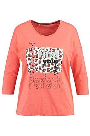 Samoon T-Shirt 1/2 Arm Camiseta 56 para Mujer