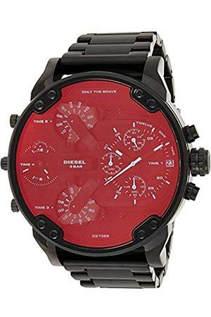 Diesel Reloj Analogico para Hombre de Cuarzo con Correa en Acero Inoxidable DZ7395