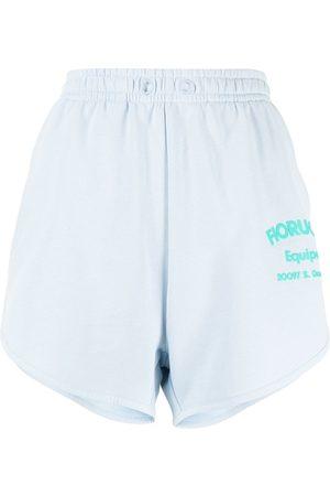 Fiorucci Shorts Equipe con logo estampado