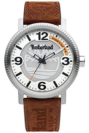 Timberland Reloj Analógico para Hombre de Cuarzo con Correa en Cuero TDWGA2101502