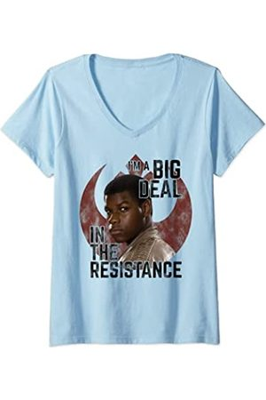 STAR WARS Mujer Finn I'm A Big Deal In The Resistance Camiseta Cuello V