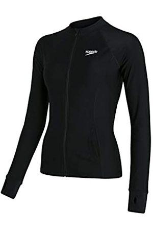 Speedo Essential Rash - Camiseta con Cremallera Delantera para Mujer, Mujer, Camiseta Rash Guard, 8131913503, ( / )