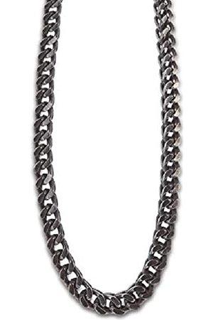 Lotus Collar modelo LS2129-1/1 de la colección Dark Style en acero para caballero