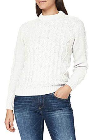 Blue Seven Damen Struktur-Pullover, Stehkragen Suéter
