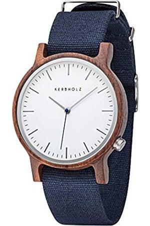 Kerbholz Reloj Analógico para Unisex Adultos de Cuarzo con Correa en Tela 4.25124E+12