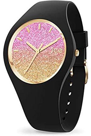 Ice-Watch Mujer Relojes - ICE Lo Black Mango - Reloj Negro para Mujer con Correa de Silicona