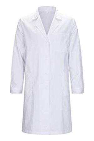 MISEMIYA Bata Laboratorios Unisex Bata Uniformes Sanitarios Ropa Laboral Ref:816 - XS