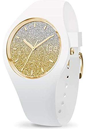 Ice-Watch ICE Lo White Gold - Reloj para Mujer con Correa de Silicona