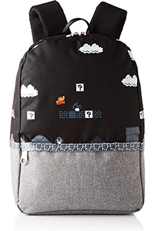 Difuzed Nintendo-Super Mario 8bit Placed Print Backpack, Mochila Bros para Hombre