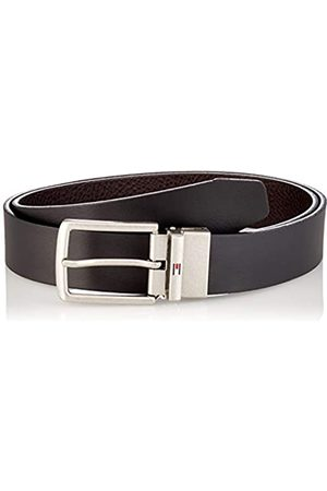 Tommy Hilfiger Denton Leather Rev 3.5 Juego de accesorios de invierno, Black/Testa Di Moro