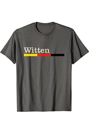Witten Stadt Trikot mit deutscher Flagge Witten City Gift T-Shirt Witten Souvenir Camiseta
