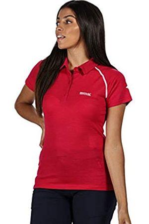Regatta Kalter-Polo De Lana Merina De Secado Rápido, Cuello con Botones T-Shirts/Polos/Vests, Mujer