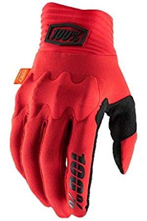 100 Percent Cognito 100% Glove Red/Black XL Guantes para ocasión Especial, Hombre