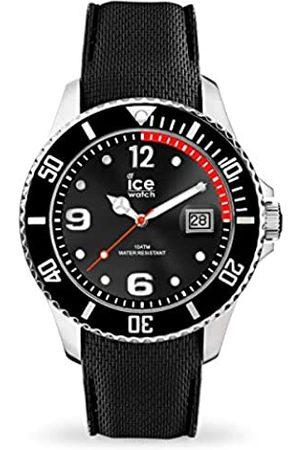 Ice-Watch Ice Steel Black - Reloj para Hombre con Correa de Silicona
