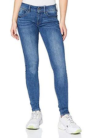 G-Star Mujer Cintura alta - Lynn Mid Waist Skinny Vaqueros, (Faded Blue 6553-A889)