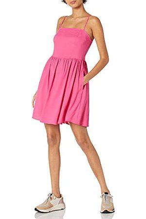 Goodthreads Georgette-Vestido Mini con Espalda Baja L
