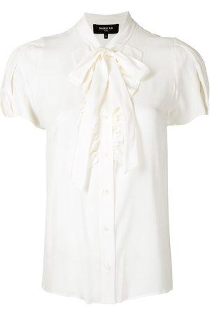 Paule Ka Camisa con ribete de volantes
