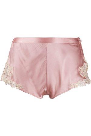 La Perla Mujer Pijamas - Shorts de pijama con encaje