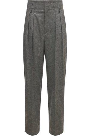 Isabel Marant | Mujer Pantalones De Viscosa Con Cintura Alta 34
