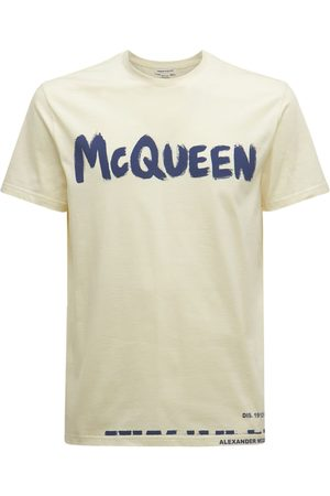 Alexander McQueen | Hombre Camiseta De Algodón Con Logo S