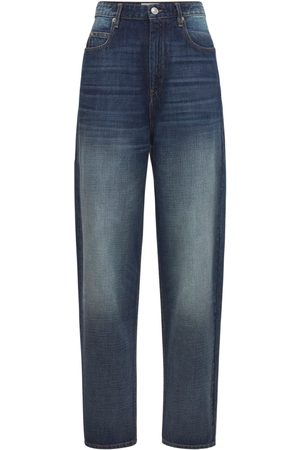 ISABEL MARANT ÉTOILE   Mujer Jeans Boyfriend De Cintura Alta 34