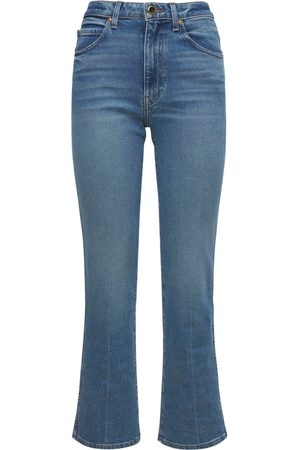"KHAITE   Mujer Jeans ""vivian New Bootcut Flare"" De Denim 24"
