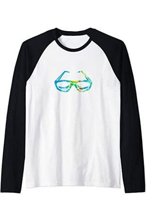 Tie Dye Retro Vintage Tie Dye Fresh Summer Vibes Estilo Hawaii retro vintage Camiseta Manga Raglan