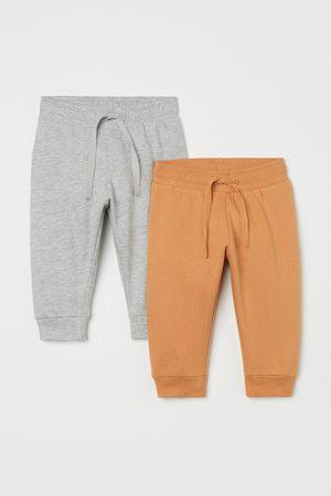 H&M Pack de 2 joggers de algodón