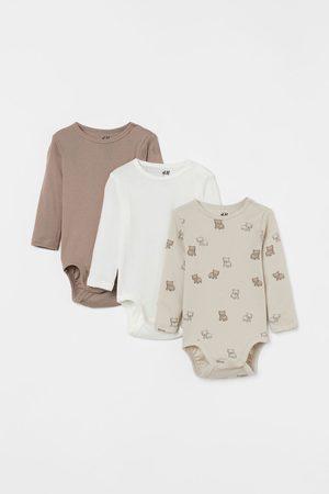 H&M Bodies bebé - Pack de 3 bodies de algodón