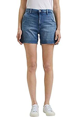 Esprit 041EE1C305 Pantalones Cortos de Jean