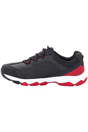 Jack Wolfskin Rock Hunter, Zapatos de Low Rise Senderismo Hombre, (Ruby Red 2505)