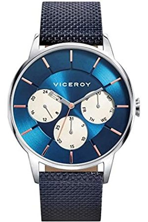 Viceroy Reloj Multiesfera para Hombre de Cuarzo con Correa en Nailon 471143-37