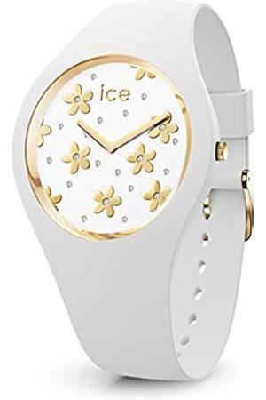 Ice-Watch ICE Flower Precious White - Reloj para Mujer con Correa de Silicona