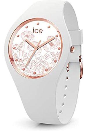 Ice-Watch ICE Flower Spring White - Reloj Blanco para Mujer con Correa de Silicona