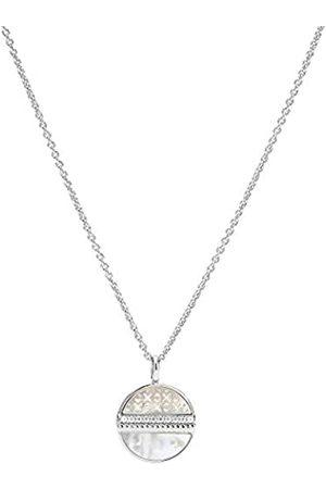 Fossil JFS00517040 collar de mujer blanco recortado 925 circonita blanca 45 cm