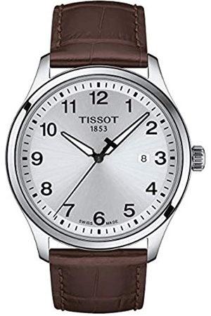 Tissot Hombre Relojes - Reloj Analógico para Hombre de Cuarzo con Correa en Cuero T1164101604700