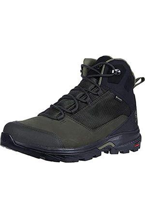 Salomon Outward GTX Zapatillas Impermeables De Senderismo Trekking Hombre, claro (Peat/Black/Burnt Olive)