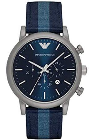 Emporio Armani Reloj Unisex de Analogico Correa en Nailon AR1949